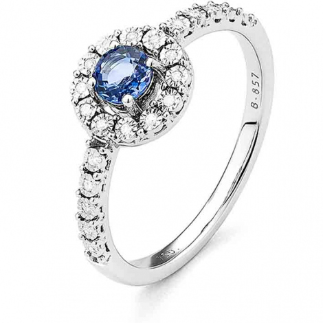Bague Saphir en Or Blanc diamant Océanie -RD125FMNWA814