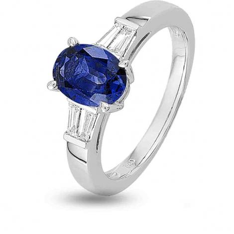 Bague Saphir en Or Blanc diamant Saki -7VG025GSB