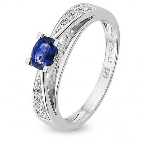Bague Saphir en Or Blanc diamant Sofia -7VF015GSB