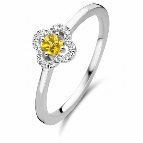 Bague saphir Jaune - One More 0.08 ct  - Salina 062249JA