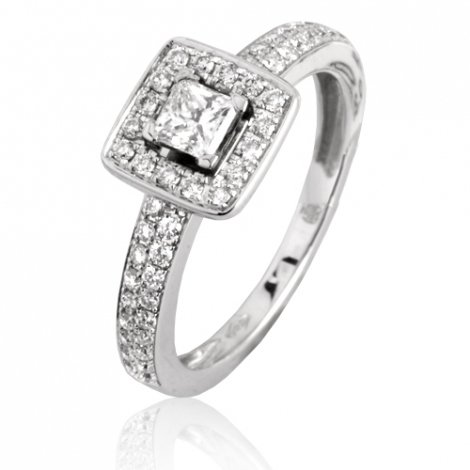 Bague sertie de diamants 0.64 ct Marina - 91AB35/A