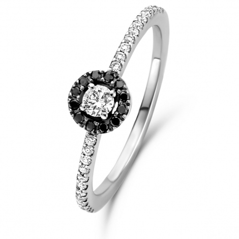 Bague solitaire One More 0.11 ct  - Salina 047606A2