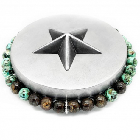 Bootleggers Bronzite Green Turquoise Apalache- Manava - EAP BB AT