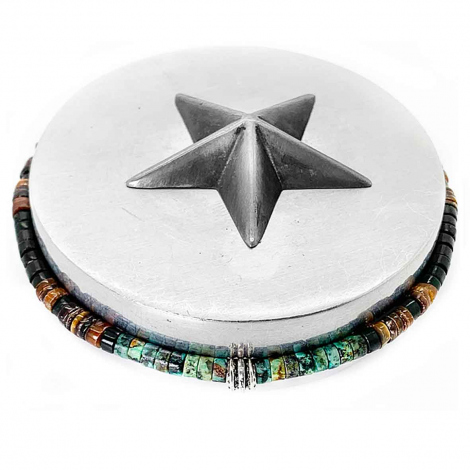 Bootleggers Rolling Hills Silver Edition Perles Fines 4mm Rolling Hills- Ilaria - RHSF3