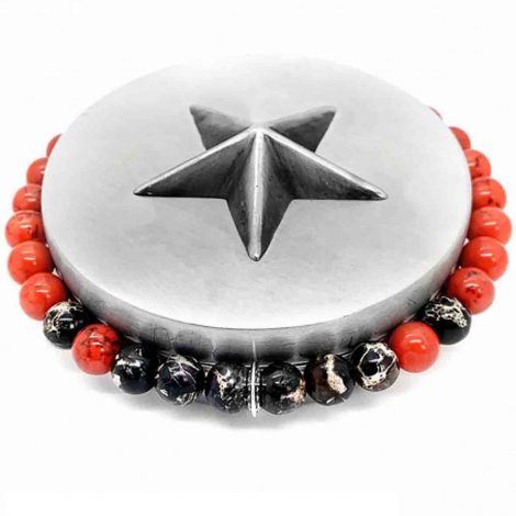 Bootleggers  Sonora Black Imperial - Red Turquoise Sonora- Atsuko - ESO SBS-RT
