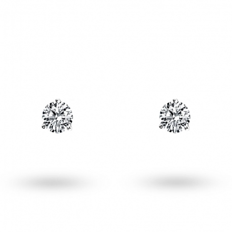 Boucle d oreille diamant 0.1 ct et Or 18 ct - 750/1000 Anthea - E2851FMPWAY02