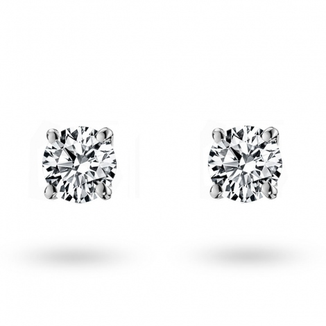 Boucle d oreille diamant 0.2 ct et Or 18 ct - 750/1000 Kimberley - E1396FMPWAY02