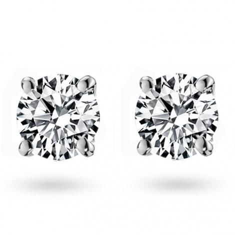 Boucle d oreille diamant 0.8 ct et Or 18 ct - 750/1000 Élizane - E1983FMPWAY09