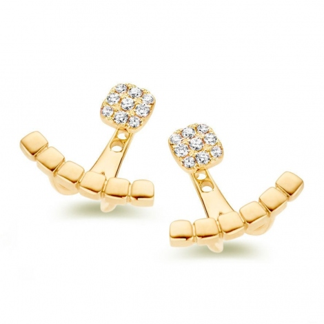 Boucle d'oreille One More  0.12 ct - Ischia 058478A