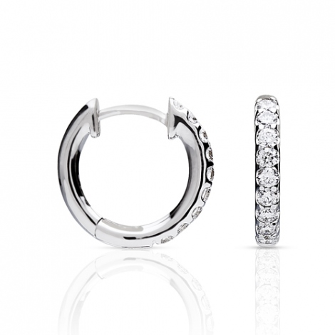 Boucle d'oreille One More  0.12 ct - Ischia 93FM09A