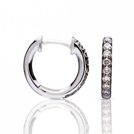 Boucle d'oreille One More  0.12 ct - Ischia 93FM09A3