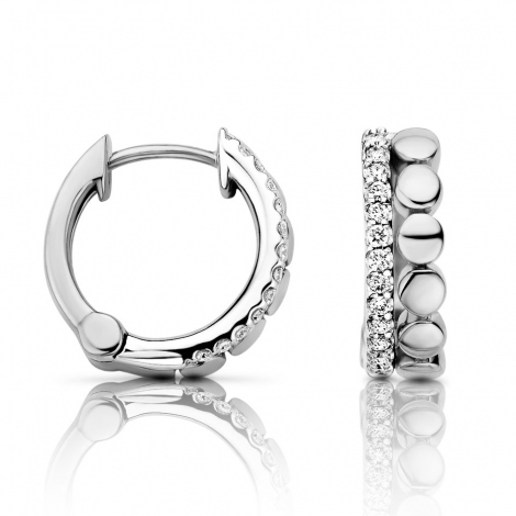 Boucle d'oreille One More  0.15 ct - Ischia 052166A