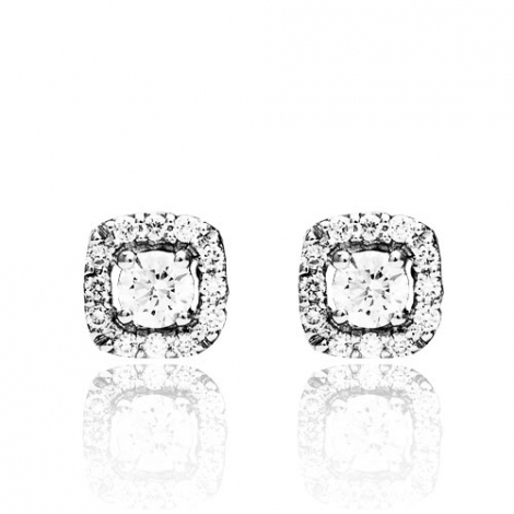 Boucle d'oreille One More  0.33 ct - Salina 047270A