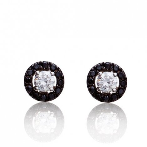 Boucle d'oreille One More  0.33 ct - Salina 047607A2