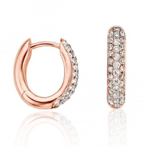 Boucle d'oreille One More  0.34 ct - Ischia 051606A