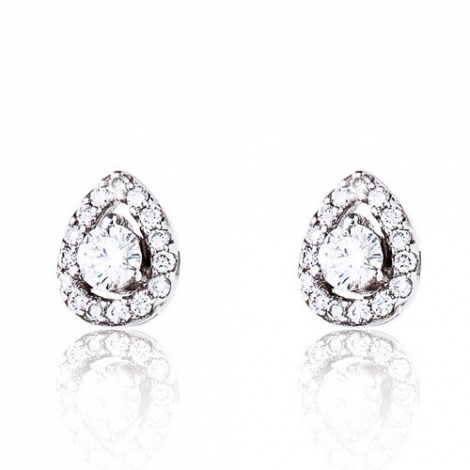 Boucle d'oreille One More  0.35 ct - Salina 047608A