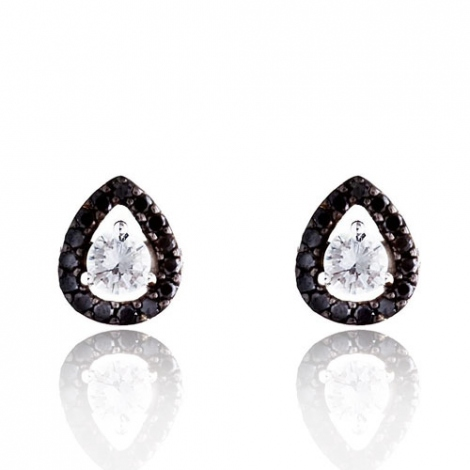 Boucle d'oreille One More  0.35 ct - Salina 047608A2