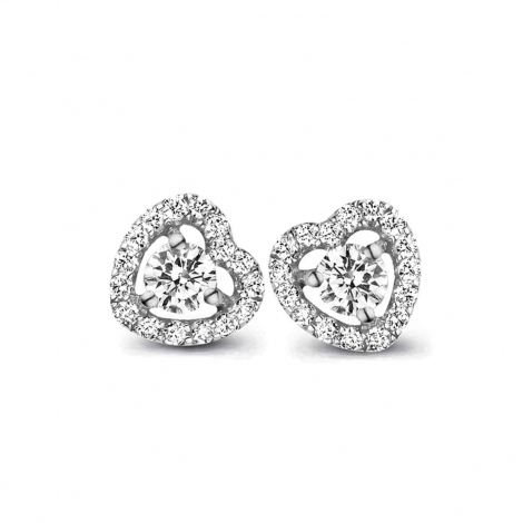 Boucle d'oreille One More  0.35 ct - Salina 048357A