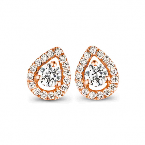 Boucle d'oreille One More  0.35 ct - Salina 051382A
