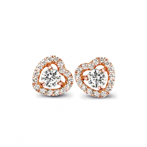 Boucle d'oreille One More  0.35 ct - Salina 051385A