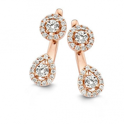 Boucle d'oreille One More  0.68 ct - Salina 055857