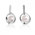 Boucle d'oreille perle de culture - 7 mm-Valeria- 710940