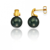 Boucle perle de Tahiti - 7.5 mm-Hermione- ref B16786-8mm