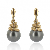 Boucle perle de Tahiti - 8-8.5 mm-Floralie- ref B12050J