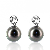 Boucle perle de Tahiti - 8-9 mm-Sabrina- ref B15310
