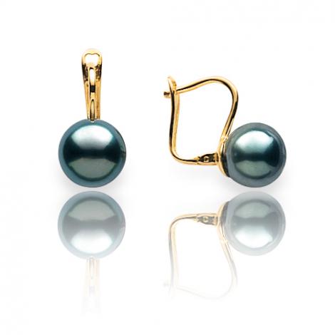 Boucle perle de Tahiti - 8 mm-Marya- ref B16784