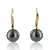 Boucle perle de Tahiti - 9-9.5 mm -Juliette- ref B17254