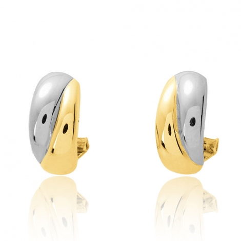 Boucles d'oreilles chic 2 Ors 3.15 g Constance - 9532JG