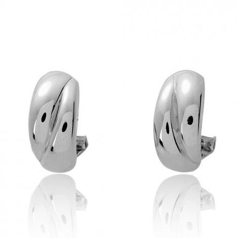 Boucles d'oreilles chic Or Blanc 3.15 g Magalie - 9532G