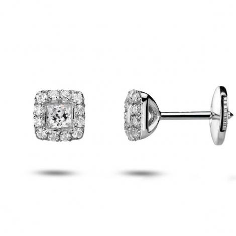 Boucles d'oreilles diamants 0.20 ct -Myra - 32800