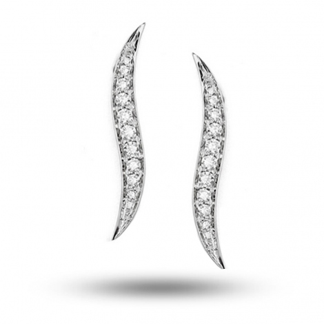 Boucles d'oreilles diamants 0.25 ct -Hinarava - E5679FMPWAY00
