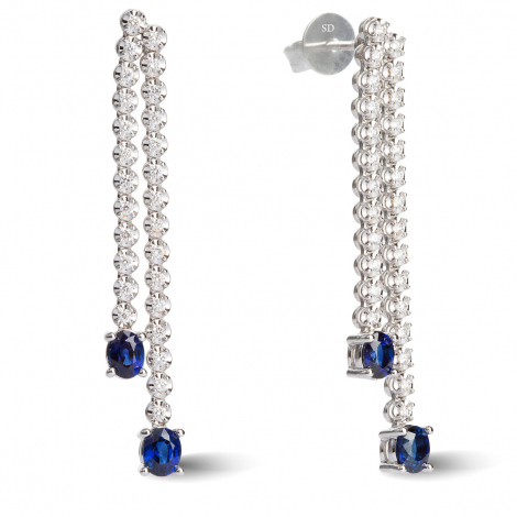 Boucles d'oreilles diamants 0.32 ct - - HSE2000PR