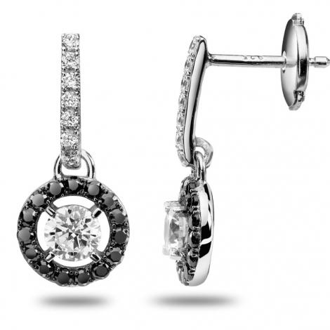 Boucles d'oreilles diamants 0.48 ct -Delphine - 32232