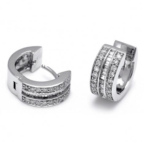 Boucles d'oreilles diamants 0.5 ct -Mylie - E2521FMPWA001