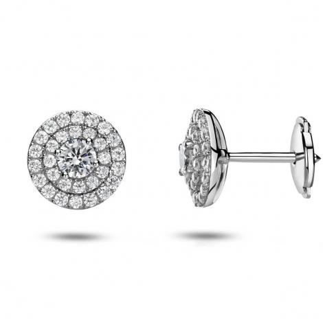 Boucles d'oreilles diamants 0.75 ct -Julie - 32234