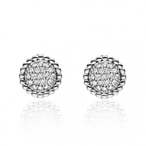 Boucles d'oreilles diamants One More - Cimini 051553A