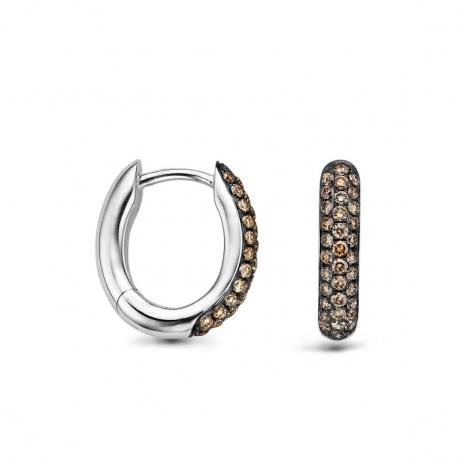 Boucles d'oreilles diamants One More - Ischia 051607A3