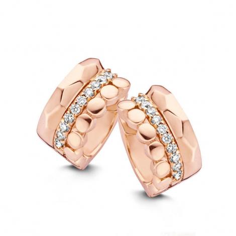 Boucles d'oreilles diamants One More - Ischia 055230A