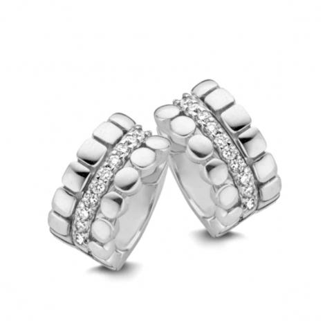 Boucles d'oreilles diamants One More - Ischia 055235A