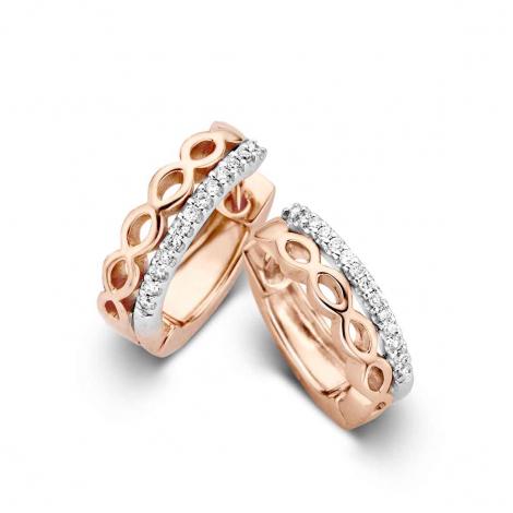 Boucles d'oreilles diamants One More - Ischia 059253A