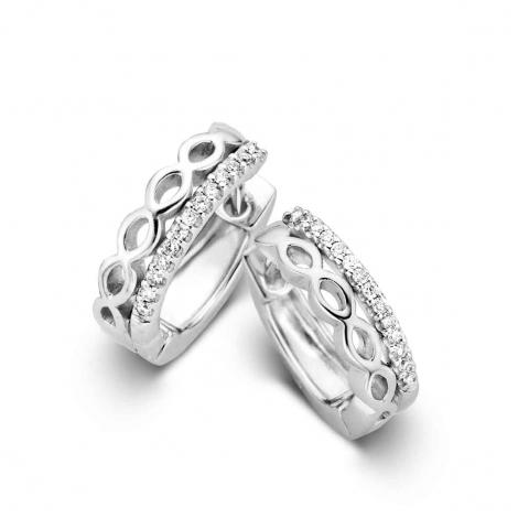 Boucles d'oreilles diamants One More - Ischia 059293A