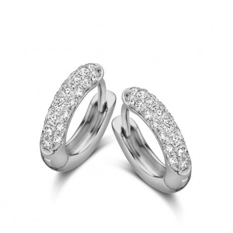 Boucles d'oreilles diamants One More - Ischia 062382A