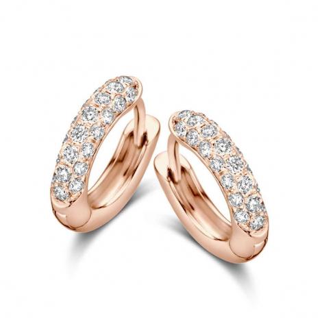 Boucles d'oreilles diamants One More - Ischia 062420A