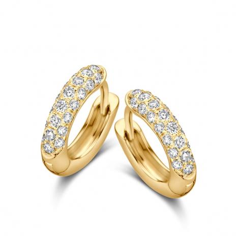 Boucles d'oreilles diamants One More - Ischia 062584A