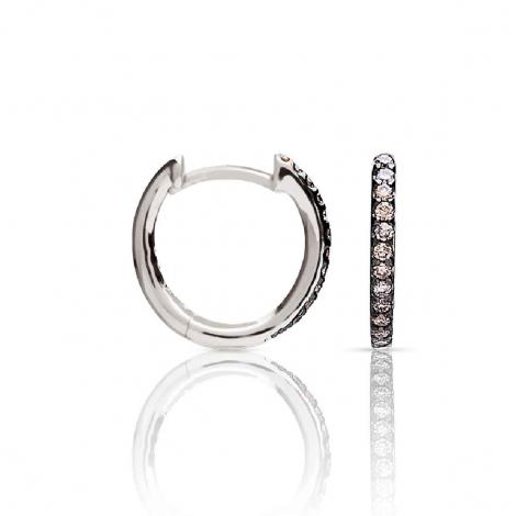 Boucles d'oreilles diamants One More - Ischia 93FM09A3