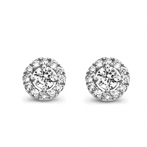 Boucles d'oreilles diamants One More - Salina 047607A